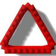 The triangular brick