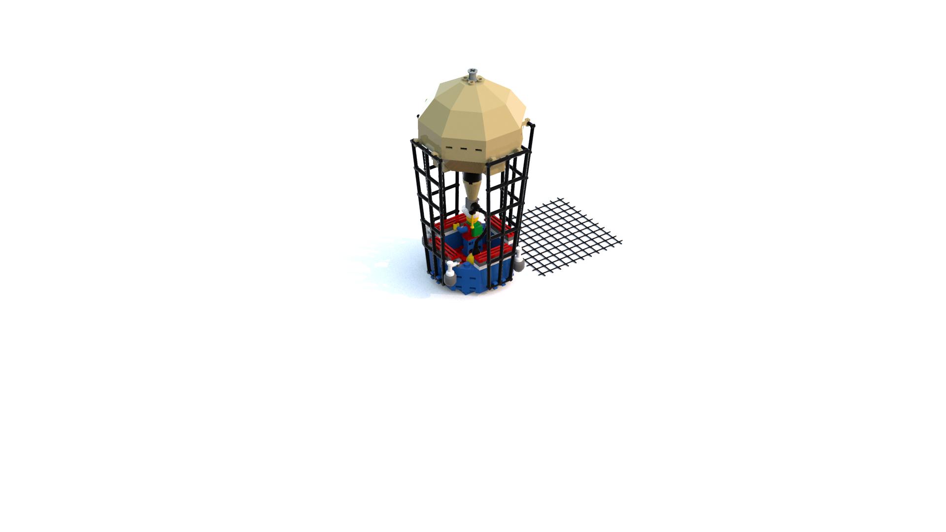 Lego Island 2 Pepper's Hot Air Balloon LDD Model