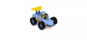 Island Xtreme Stunts Rhoda Hogg/Studz Linkin Car LDD Model (Fixed Colors)