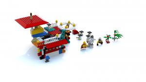 Lego Island 2 Ogel Island Pizzeria LDD Model (Fixed Colors)