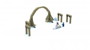 Lego Racers 2 Portal To Xalax LDD Model