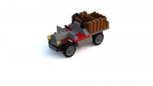 Lego Racers 2 Dino Island Pre-Built Car LDD Model
