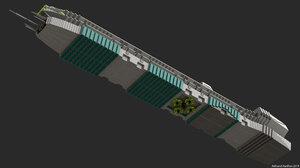 L.M.S. Explorer studio 2.0 render 3