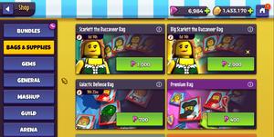 Lego Legacy Gem Spam
