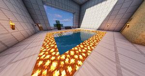 Pool in Noname City's Inn