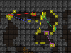 Run the Gauntlet Emerge Map